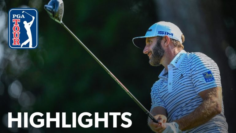 dustin johnson pga tour fedexcup.