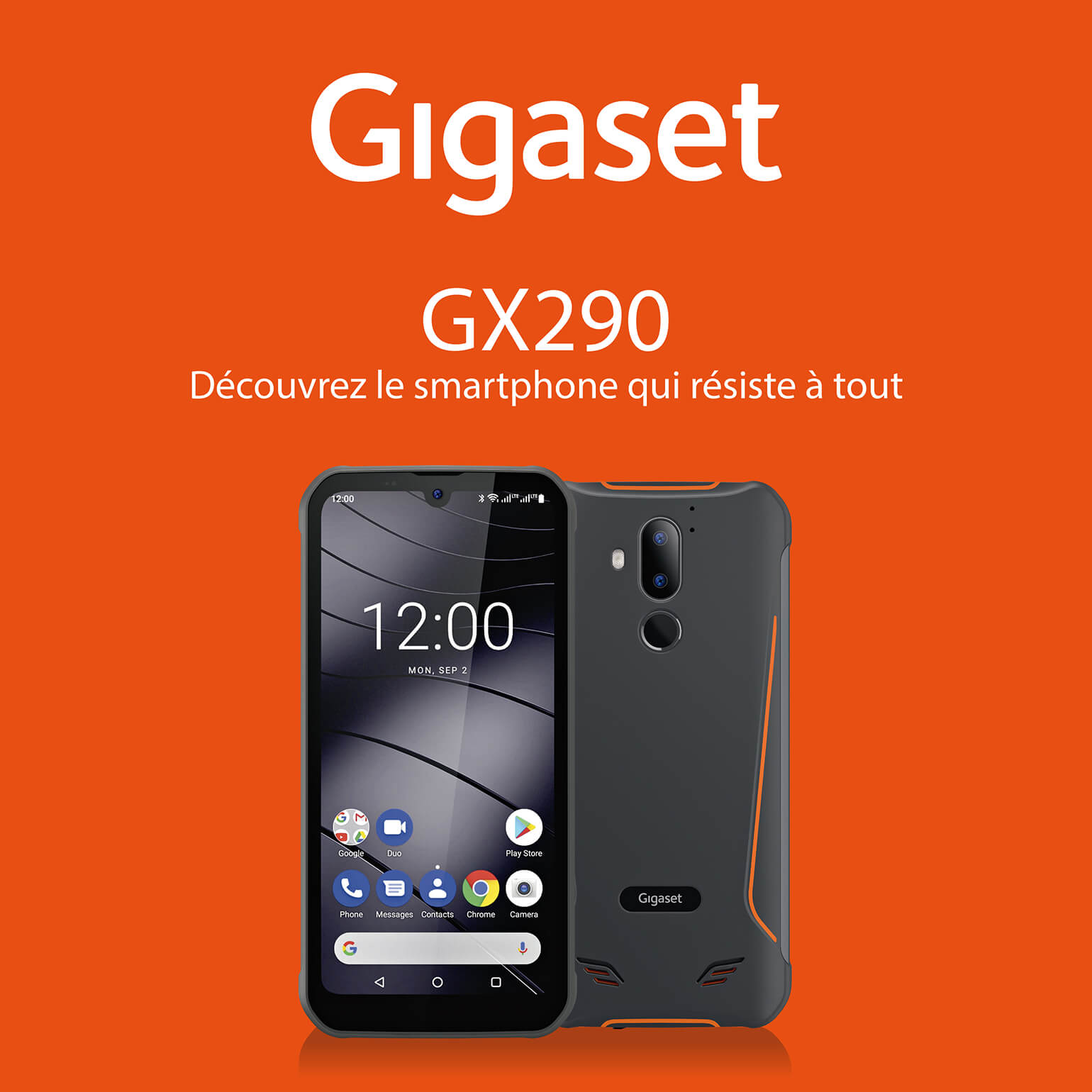 Gigaset GX290 Septembre 2020 – ticket Accueil