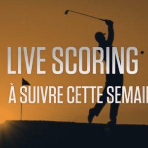 live scoring golf cette semaine