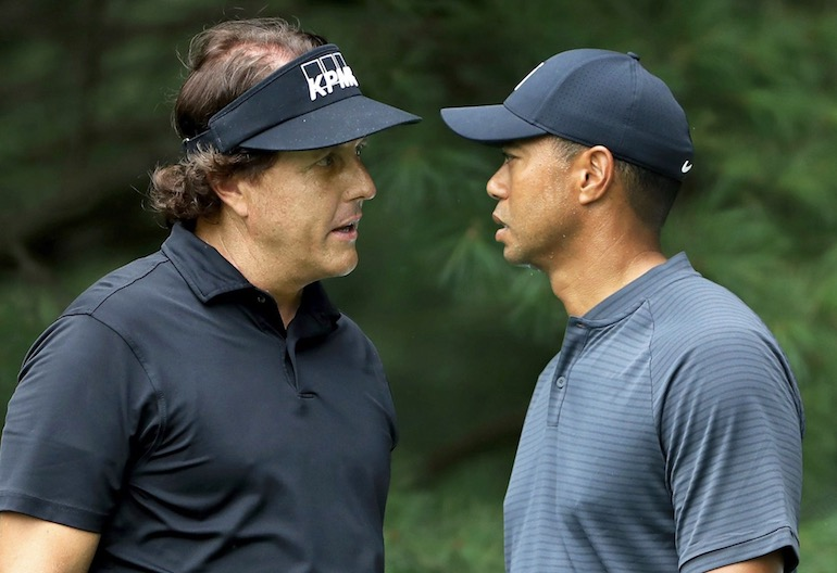 mickelson woods rivalité message