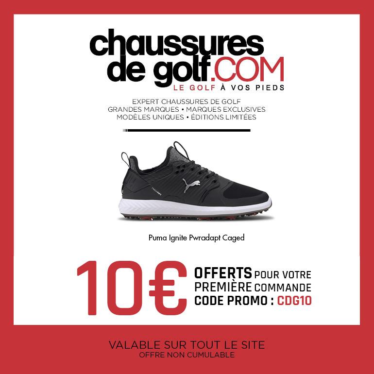 202008 Chaussures de golf Puma Ignite – ticket carré