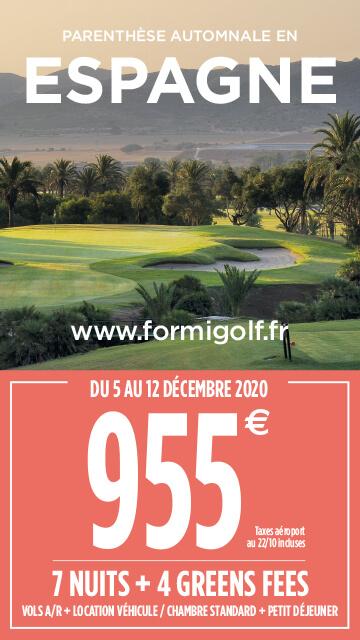 Formigolf Nov 2020 – Espagne – Bannière verticale