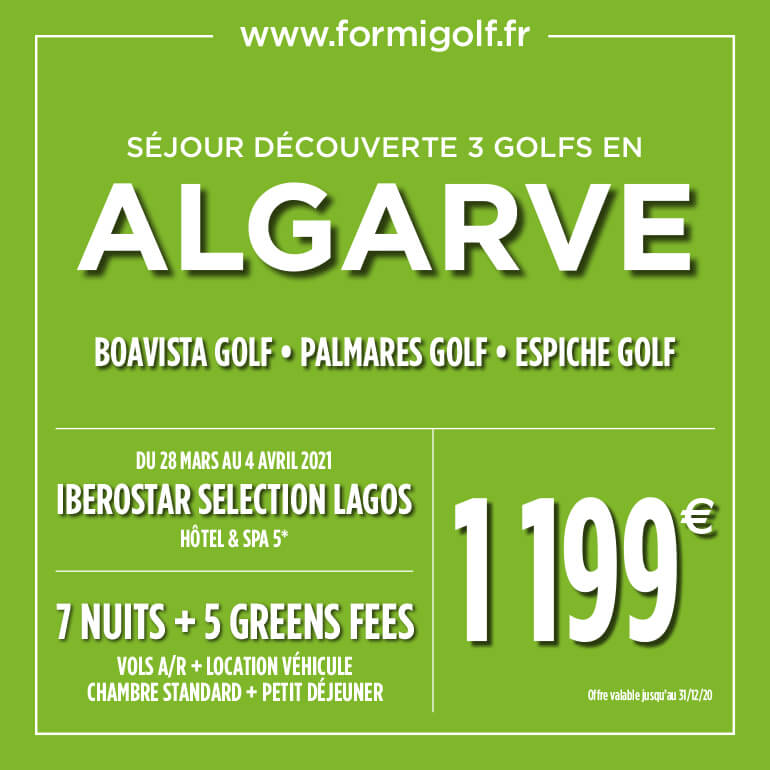 Formigolf Oct 2020 – Algarve – ticket carré