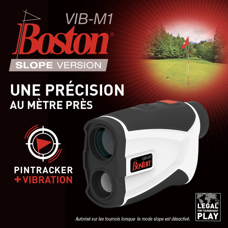 Boston Golf Télémètre Décembre 2020 ticket carré