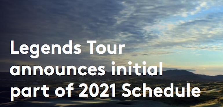 Un premier calendrier 2021 pour le Legends Tour européen   Golf