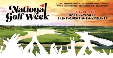 national golf week affiche