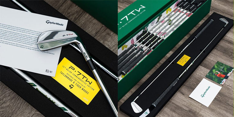 TaylorMade P7TW Masters serie fers woods