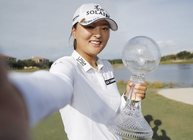 Jin Young Ko Michael Reaves/Getty Images/AFP