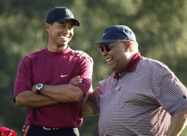Tiger Woods Earl Woods, Photo by Doug Benc/Getty Images