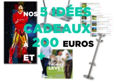 IDEES CADEAUX 50 200 EUROS NOEL 2020 GOLF
