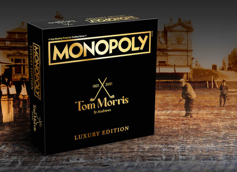 monopoly edition deluwe home of golf