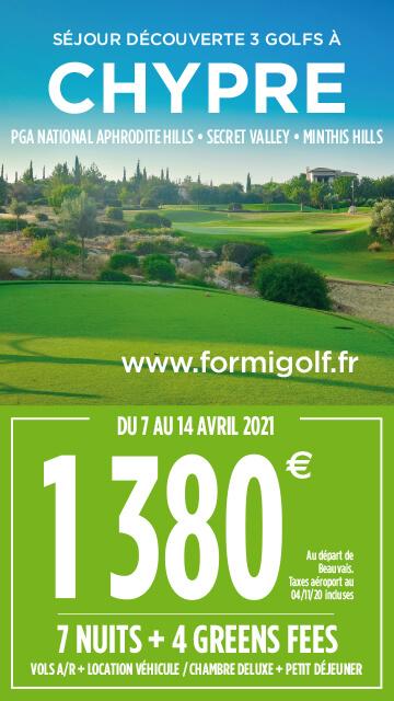 Formigolf Janv 2021 – Chypre – Bannière verticale