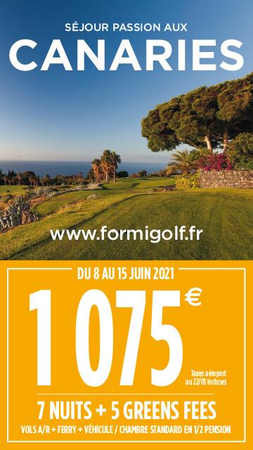 Formigolf Fév 2021 – Canaries – Bannière verticale
