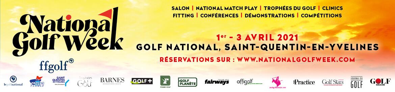 National Golf Week 2021 Bloc pavé bannière 1170