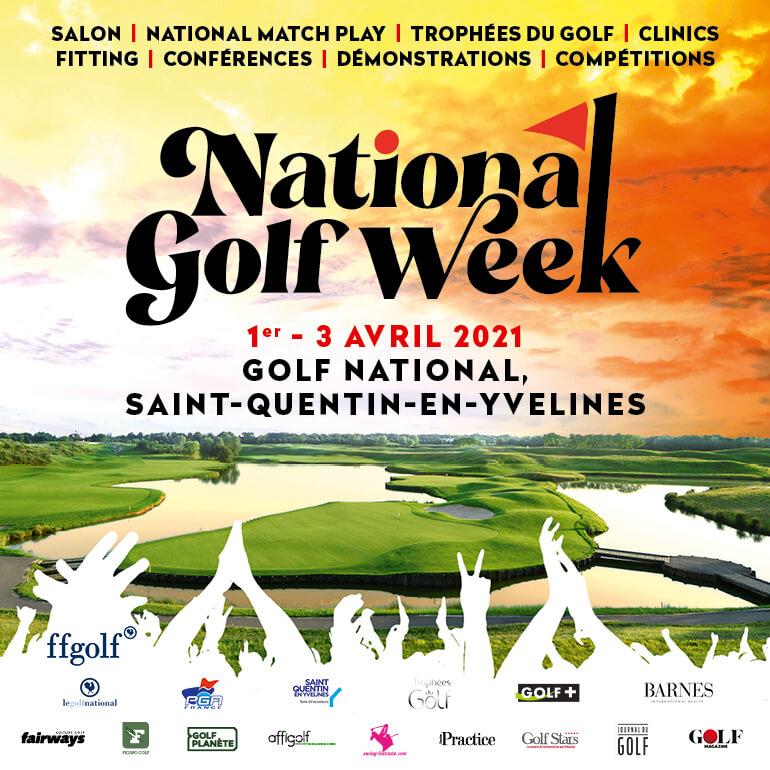 National Golf Week 2021 Bloc pavé carré 770×770