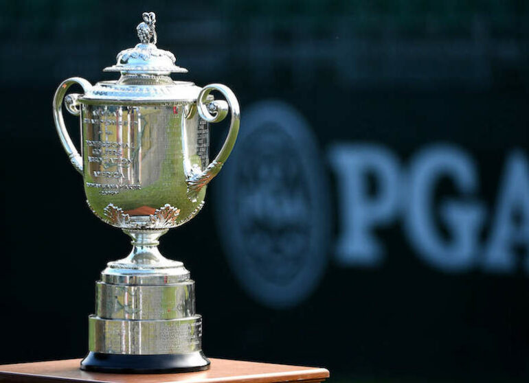 US PGA trophee wanamaker ROSS KINNAIRD / GETTY - AFP