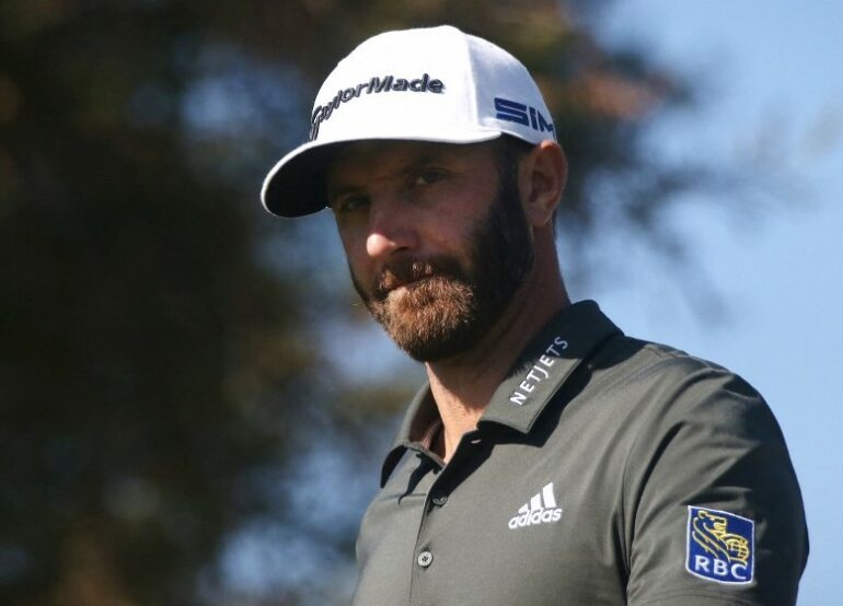 Dustin Johnson Katharine Lotze/Getty Images/AFP