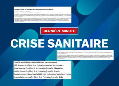 ffgolf crise sanitaire