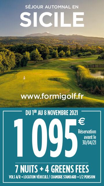 Formigolf Avril 2021 – Sicile – Bannière verticale