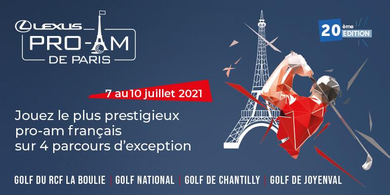 ProAm Lexus 2021-Bannière Newsletter