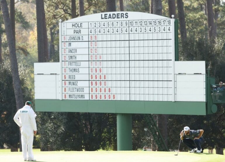 The Masters Photo by JAMIE SQUIRE / GETTY IMAGES NORTH AMERICA / Getty Images via AFP