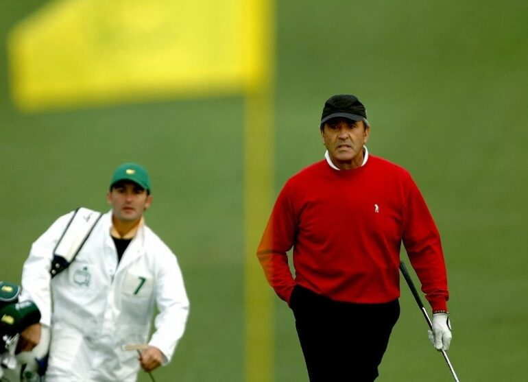 Seve Ballesteros Photo Harry How / Getty Images North America / Getty Images via AFP
