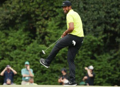 Tony Finau Photo by Kevin C. Cox / GETTY IMAGES NORTH AMERICA / Getty Images via AFP
