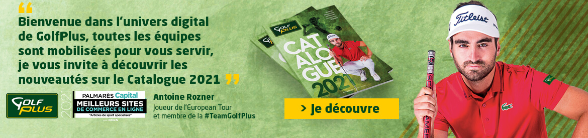 Golf Plus avril 2021 Catalogue – Bannière large