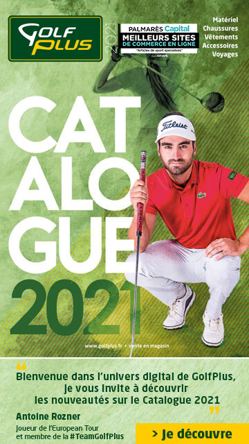 Golf Plus avril 2021 Catalogue – Bannière verticale