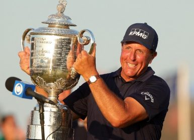 Phil Mickelson Photo Stacy Revere / GETTY IMAGES NORTH AMERICA / Getty Images via AFP