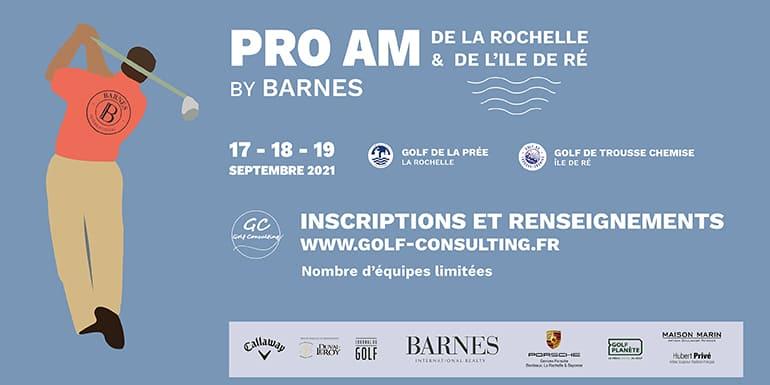 Golf Consulting pro am la rochelle 2021-Bandeau