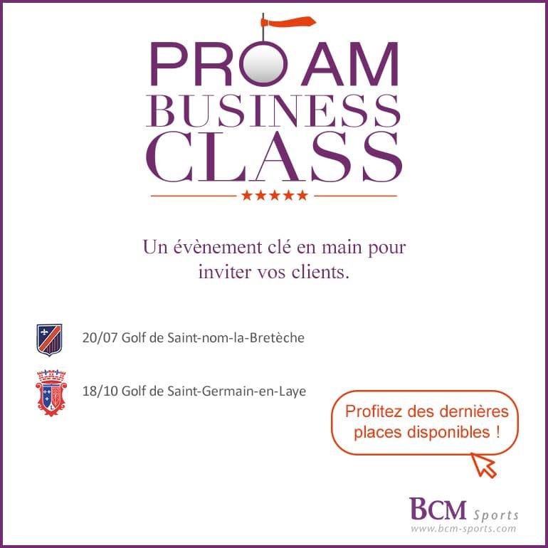 BCM Sports Business Class 2021-Pavé Carré