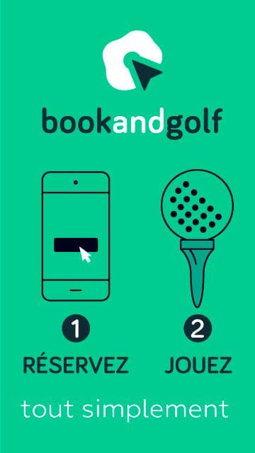 Book and Golf Juin 2021 – Bannière verticale