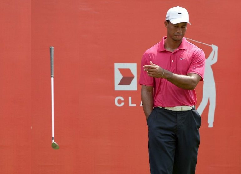 TIGER WOODS Photo by Mohd RASFAN / AFP