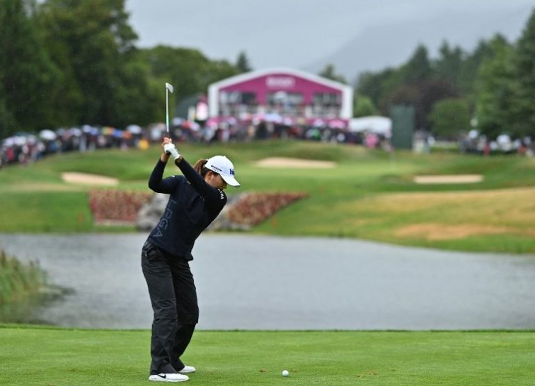 Jin Young Ko Photo by STUART FRANKLIN / GETTY IMAGES EUROPE / Getty Images via AFP