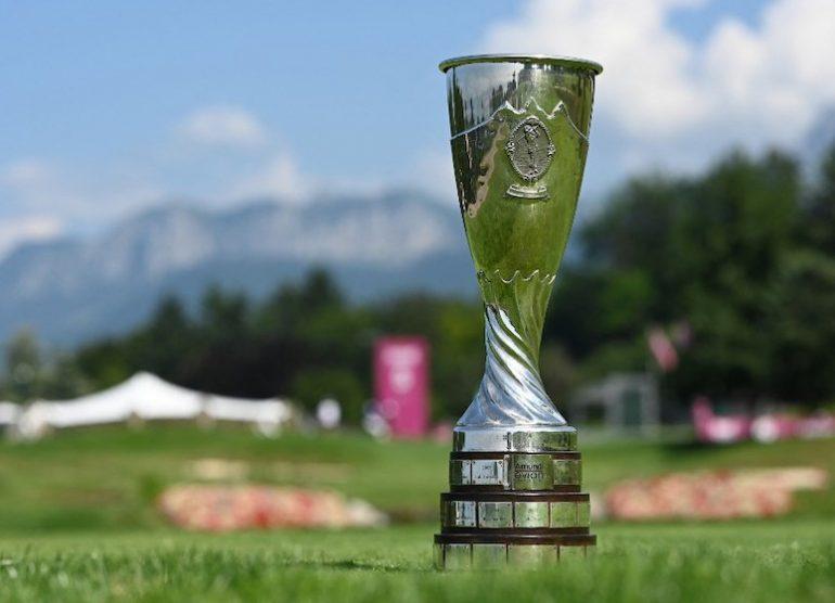 trophée Photo by STUART FRANKLIN / GETTY IMAGES EUROPE / Getty Images via AFP