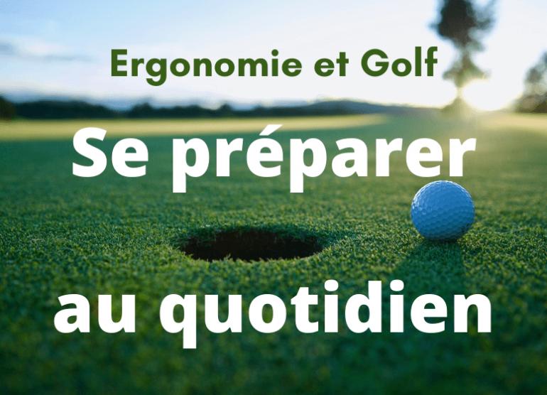 Ergonomie et Golf Chestam Philippe Chéoux