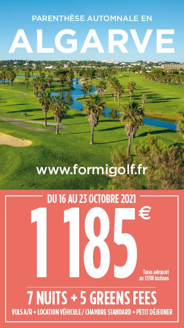 Formigolf sept 2021 – Algarve – Bannière verticale