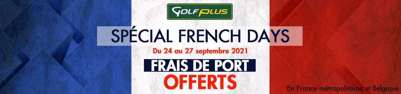 Golf Plus sept 2021 French Days – bannière large