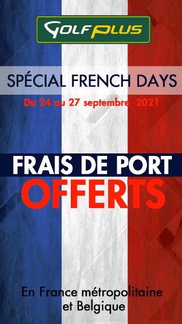 Golf Plus sept 2021 French Days – bannière verticale