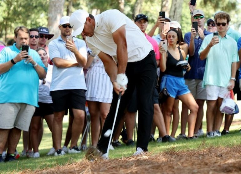 Brooks Koepka Photo by Cliff Hawkins / Getty Images via AFP