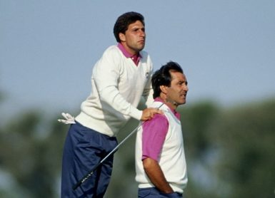 Olazabal Ballesteros David Cannon Collection / Getty Images via AFP