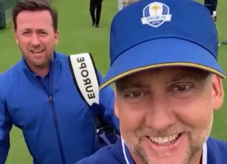 poulter mcdowell caddie ryder cup