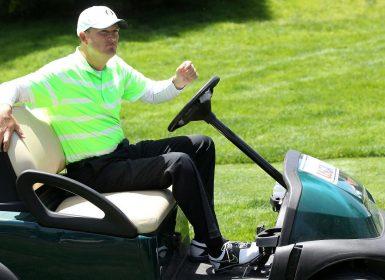 Casey Martin Golf Cart
