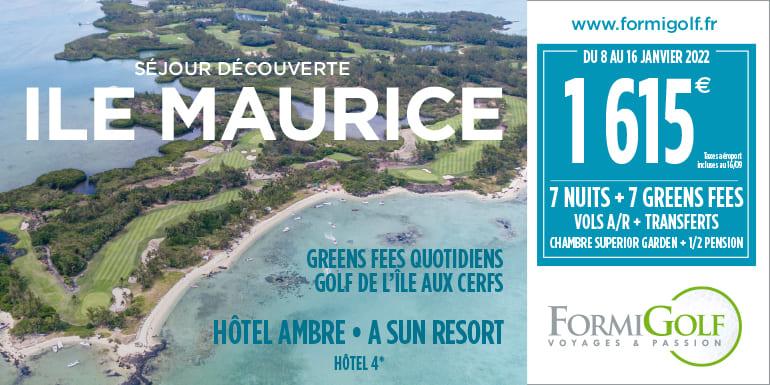 Formigolf octobre 2021 – Ile Maurice – Bandeau
