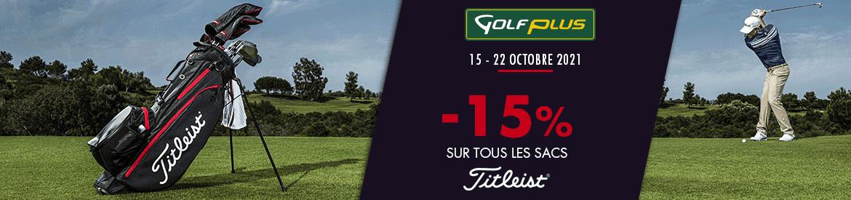 Golf Plus oct 2021 promo sur les sacs – bannière large