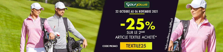 Golf Plus oct 2021 opération textiles – bannière large