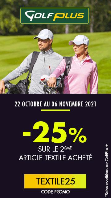 Golf Plus oct 2021 opération textiles – bannière verticale