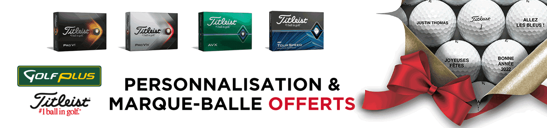 Golf Plus oct 2021 personnalisation balles – bannière large