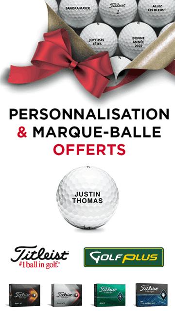 Golf Plus oct 2021 personnalisation balles – bannière verticale